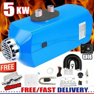 5000w Air Diesel Heater 5kw 12v For Truck Motor homes Boats Bus Knob Switch Mt