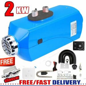 2kw Diesel Air Heater Planar 2000w 12v For Motorhome Truck Boats Bus Silencer My