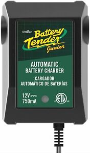 Battery Tender 12v 0 75a Battery Charger Lightweight Compact Fully Automatic