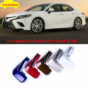 4x For Toyota Camry Sport Se Xse 2018 Painted Mud Flaps Splash Guards Mudguard