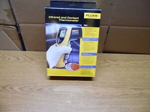 Fluke 561 Hvac Pro Infrared And Contact Thermometer With Calibration Certificate