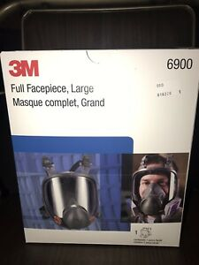 3m Full Facepiece Respirator Model 6900 Large Bnib W 3m 60923 P100 Cartridges