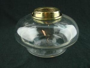 Superb Hinks Clear Glass Drop In Table Top Oil Lamp Font Bayonet Fit