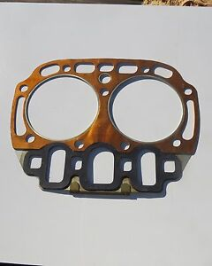 Vintage Nos John Deere Two Cylinder Head Gasket Bore About 5 3 4