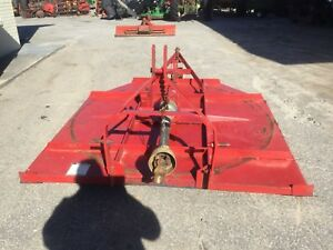 Heavy Duty 6 Ft 3 Point Hitch Bush Hog With Pto Shaft