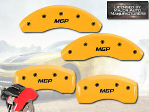 2016 2019 Honda Civic Ex Lx Exl Front Rear Yellow Mgp Brake Disc Caliper Cover