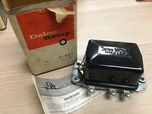 Nos Delco Remy D617 Voltage Regulator 1119000 Buick Oldsmobile Gm Chevy Vr20
