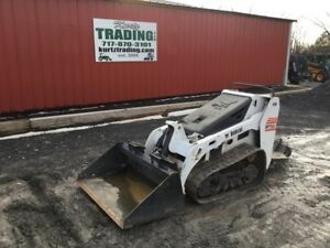 2014 Bobcat Mt55 Track Compact Stand On Skid Steer Loader Coming Soon