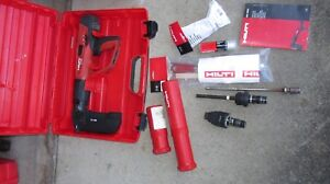 Hilti Dx 460 Mx72 F 8 Fie l Powder Actuated Nail Gun Kit Nice combo 809