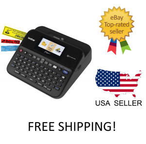 New Brother P touch Label Maker Pc connectable Labeler Ptd600