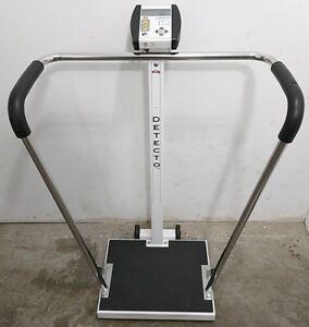 Detecto 6855 600lb Bariatric Scale With Cardinal 750 Digital Weight Bmi Display