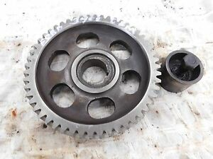 Ford 3400 Gas Camshaft Drive Gear Antique Tractor