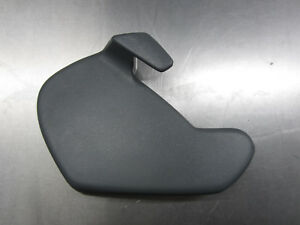 84 88 Pontiac Fiero Interior Rh Passenger Seat Recline Cover Trim Dark Gray Oem