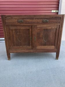 Antique French Chest Wash Stand Commode