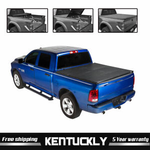 5 7 roll Up Tonneau Cover For 2009 2018 Dodge Ram 1500 2500 3500 Short Bed