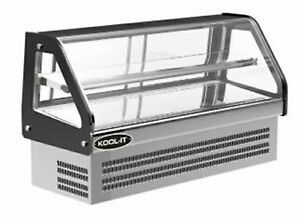 Kool it Kcd 48 Countertop Display Deli Case 5 0 Cu ft 47 1 4 w Glass Sides