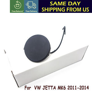 New Front Bumper Tow Eye Cover Hook Cap 5c6807241 Fit Vw Jetta 2011 2012 2014 Us