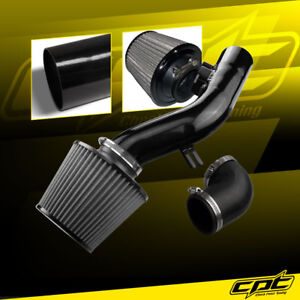 For 08 10 Pontiac G6 2 4l W o Air Pump Black Cold Air Intake Stainless Filter