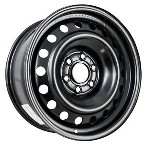 69358 Factory Oem Reconditioned Spare Steel Wheel 16x7 Black Full Face Painted