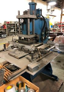 Acromark Hot Stamping Press Model 830 200 Loc Erc10336 cg
