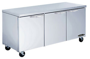 Kool it Kucr 72 3 Undercounter Refrigerator 72 3 Section 19 6 Cu ft