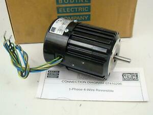 Bodine 1 15 Hp Electric Motor 115v 1ph 60hz 34r4bfci