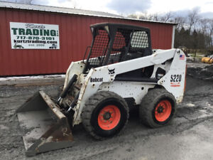 2005 Bobcat S220 Skid Steer Loader Coming Soon