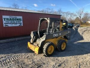 2011 John Deere 318d Skid Steer Loader Read Description