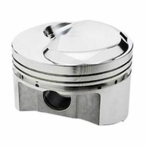 Srp 212134 Forged Dome Pistons 4 310 Bore 3 16 Ring Chevy Bb Set Of 8