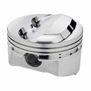 Srp 140674 Forged Dome Pistons 4 030 Bore 3 16 Ring Grooves Chevy Sb