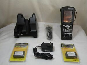 Psion Teklogix 7527c g2 Workabout Pro Barcode Scanner W 2 New Batteries Charger