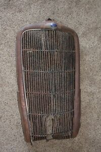 1935 Ford Auto Grill 12 Photos See Shipping Option In Description
