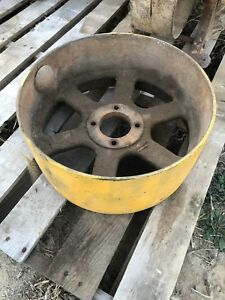 Minneapolis Moline U Tractor Flatbelt Pulley Mm Belt Pulley Utu Ub 16