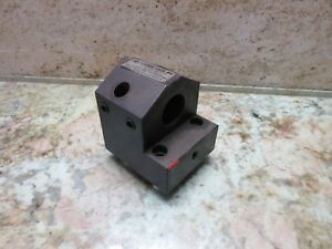 Miyano Turret Tool Tooling Holder Block 6e78 7100 In 3 Cnc Warranty