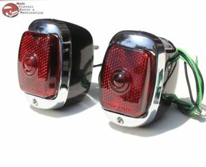 40 53 55 59 Chevy Pickup Truck Rear Tail Lamp Lights
