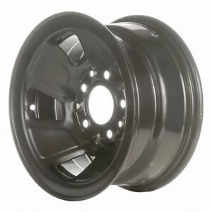 03026 Refinished Ford F150 Truck 1992 1996 15 Inch Black Steel Wheel Rim