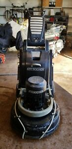 Htc 800 Hdx Concrete Floor Grinder Polisher With Htc Vac