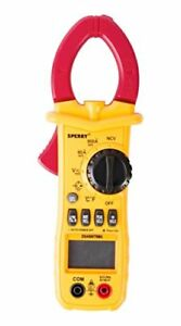 Sperry Instruments Dsa600trms 12 Function True Rms Digital Clamp Meter Yellow