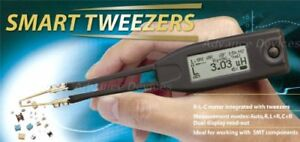 Smart Tweezers St5 st51ad Pro Lcr Multimeter Complete Set And Extra Lead Tips