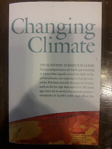 2007 National Geographic Magazine 30 X 20 Map Of Changing Climates 00065