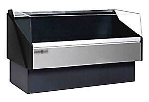 Hydra kool Kfm of 120 s Fresh Meat Deli Case Open Front Self Serve 117 w