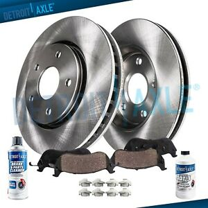 Rear Disc Brake Rotors Ceramic Pads 2010 2011 2012 2013 2014 Ford Mustang