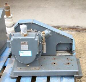Welch Dou seal Vacuum Pump 1397