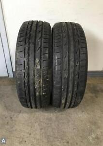 2x P205 45r17 Bridgestone Potenza S 001 8 9 32 Used Tires