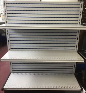 Gondola Shelving Board With 4 Slide Retail Store Use local Pickup Only