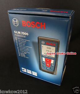 New Bosch Glm7000 Laser Distance Measurer Meter Ranger Finder 70 Meters