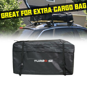 Top Carrier Roof Cargo Luggage Storage Travel Bag Fit All Car Truck Suv Van