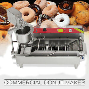 Popular Commercial Auto Donut Maker Making Machine Stainless Steel 3 size Mold
