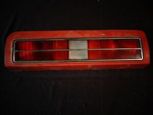 1973 Pontiac Grand Am Colonnade Taillight Tail Lamp Assembly Guide 2a2 R 5964646