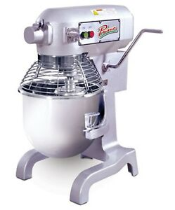 Primo Pm 20 Planetary Meat Mixer 20 Qt Capacity Bench Model Gear Driven